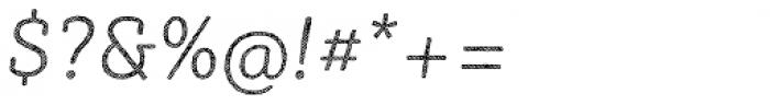Sybilla Hatch Pro Thin Italic Font OTHER CHARS