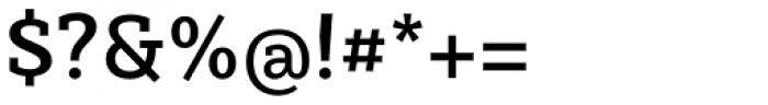 Sybilla Medium Font OTHER CHARS