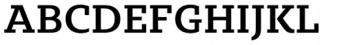 Sybilla Medium Font UPPERCASE