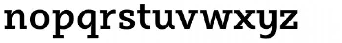 Sybilla Medium Font LOWERCASE