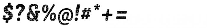 Sybilla Plaid Pro Condensed Bold Italic Font OTHER CHARS