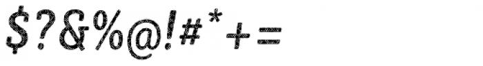 Sybilla Plaid Pro Condensed Regular Italic Font OTHER CHARS