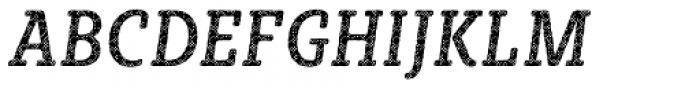 Sybilla Plaid Pro Condensed Regular Italic Font UPPERCASE