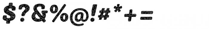 Sybilla Plaid Pro Heavy Italic Font OTHER CHARS