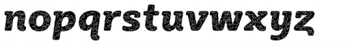 Sybilla Plaid Pro Heavy Italic Font LOWERCASE