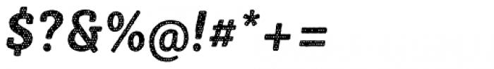 Sybilla Plaid Pro Narrow Bold Italic Font OTHER CHARS
