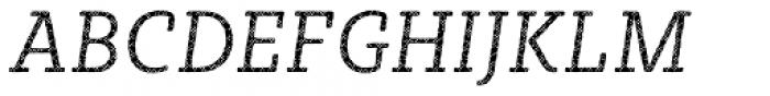 Sybilla Plaid Pro Narrow Light Italic Font UPPERCASE