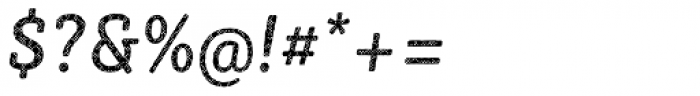 Sybilla Plaid Pro Narrow Regular Italic Font OTHER CHARS