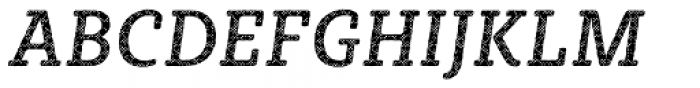 Sybilla Plaid Pro Narrow Regular Italic Font UPPERCASE