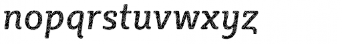Sybilla Plaid Pro Narrow Regular Italic Font LOWERCASE