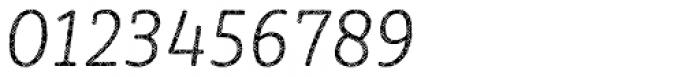 Sybilla Plaid Pro Narrow Thin Italic Font OTHER CHARS