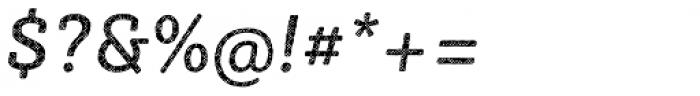 Sybilla Plaid Pro Regular Italic Font OTHER CHARS