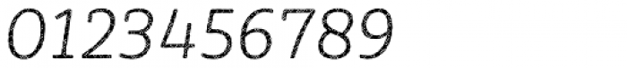 Sybilla Plaid Pro Thin Italic Font OTHER CHARS
