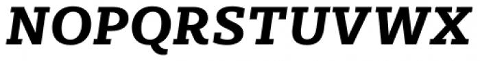 Sybilla Pro Bold Italic Font UPPERCASE