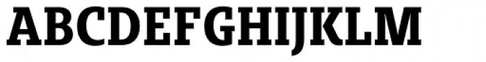Sybilla Pro Condensed Bold Font UPPERCASE