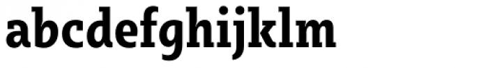 Sybilla Pro Condensed Bold Font LOWERCASE