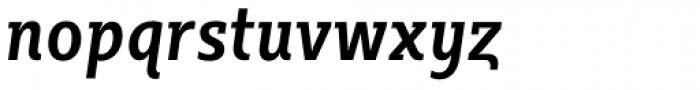 Sybilla Pro Condensed Medium Italic Font LOWERCASE