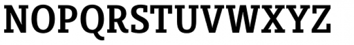 Sybilla Pro Condensed Medium Font UPPERCASE