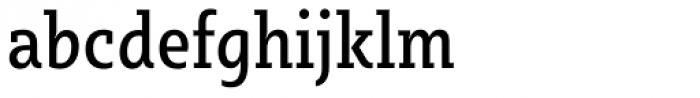 Sybilla Pro Condensed Regular Font LOWERCASE