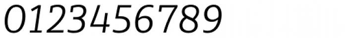 Sybilla Pro Light Italic Font OTHER CHARS