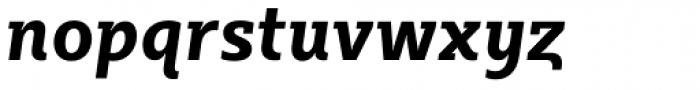 Sybilla Pro Narrow Bold Italic Font LOWERCASE