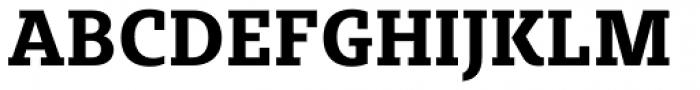 Sybilla Pro Narrow Bold Font UPPERCASE