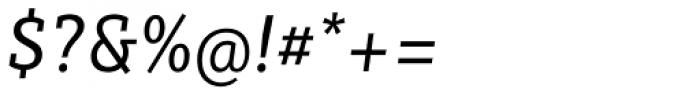 Sybilla Pro Narrow Book Italic Font OTHER CHARS