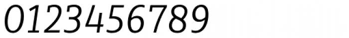 Sybilla Pro Narrow Light Italic Font OTHER CHARS