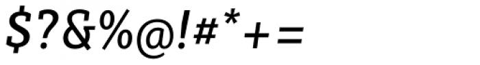 Sybilla Pro Narrow Regular Italic Font OTHER CHARS