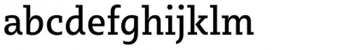Sybilla Pro Narrow Regular Font LOWERCASE