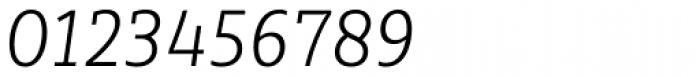 Sybilla Pro Narrow Thin Italic Font OTHER CHARS