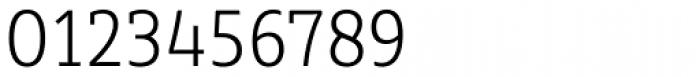 Sybilla Pro Narrow Thin Font OTHER CHARS