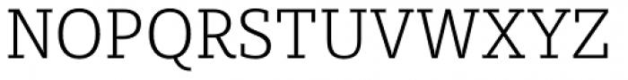 Sybilla Pro Narrow Thin Font UPPERCASE