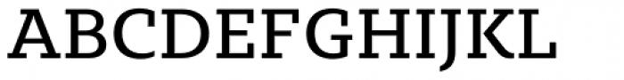 Sybilla Pro Regular Font UPPERCASE