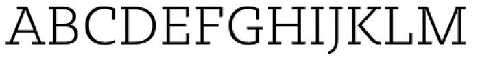 Sybilla Pro Thin Font UPPERCASE