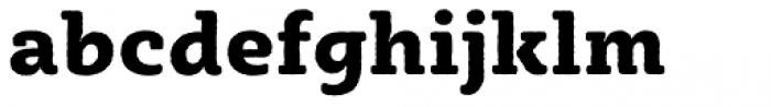 Sybilla Rough Pro Heavy Font LOWERCASE