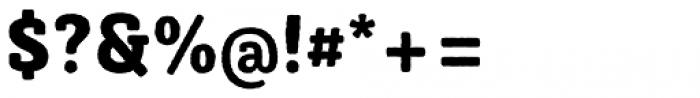 Sybilla Rough Pro Narrow Heavy Font OTHER CHARS