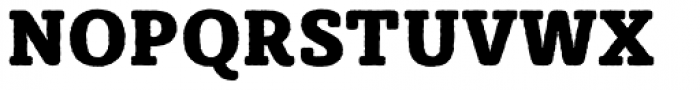Sybilla Rough Pro Narrow Heavy Font UPPERCASE