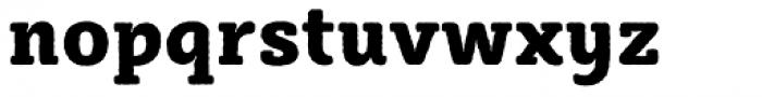 Sybilla Rough Pro Narrow Heavy Font LOWERCASE