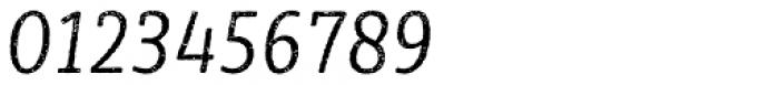 Sybilla Rust Pro Condensed Light Italic Font OTHER CHARS