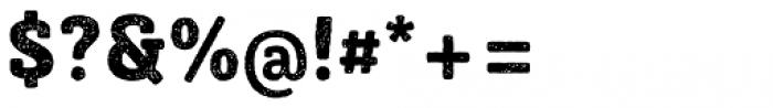 Sybilla Rust Pro Narrow Heavy Font OTHER CHARS