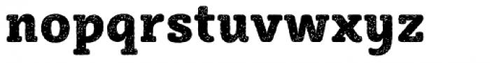 Sybilla Rust Pro Narrow Heavy Font LOWERCASE