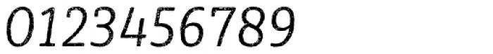 Sybilla Rust Pro Narrow Light Italic Font OTHER CHARS