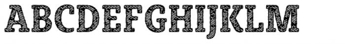 Sybilla Stroke Pro Condensed Bold Font UPPERCASE
