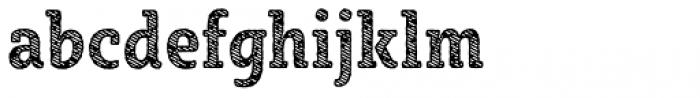Sybilla Stroke Pro Condensed Bold Font LOWERCASE