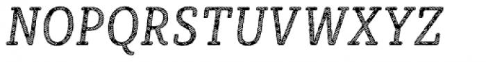 Sybilla Stroke Pro Condensed Book Italic Font UPPERCASE