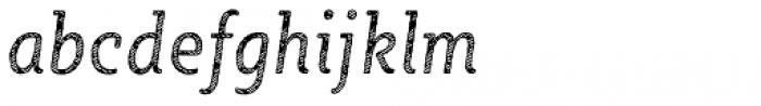 Sybilla Stroke Pro Condensed Book Italic Font LOWERCASE