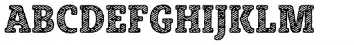 Sybilla Stroke Pro Condensed Heavy Font UPPERCASE