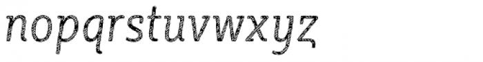 Sybilla Stroke Pro Condensed Light Italic Font LOWERCASE