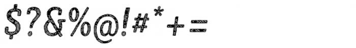 Sybilla Stroke Pro Condensed Regular Italic Font OTHER CHARS